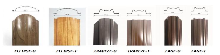 Новые виды металлического штакетника LTE® - новости компании Металл Профиль